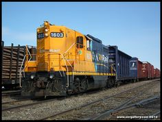 @OntNorthland 1603 sorting out tonnage @ Cochrane April 21st