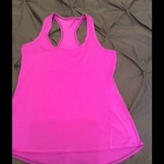 Never worn Athleta Performance Tank Performance wicking tank. Hot pink, so cute for summer and spring! Athleta Tops Tank Tops