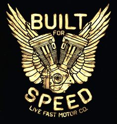LIVE FAST MOTOR CO. U.S.A, ART DESIGN FOR T-SHIRT AND LETTERING