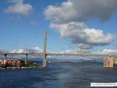 Mirada Fotográfica - Camino al Preikestolen, Noruega - El mundo a nuestros pies - Puentes y costa de Stavanger