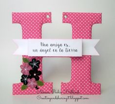 creating and sharing it: Blog Hop Amistad se escribe con.....