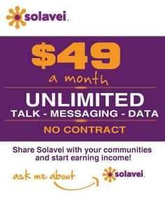 Contact me to get started in Solavei today! www.solavei.com/jalencia or by phone (559)670-1138 ext 87