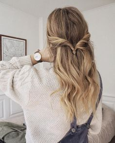 Cute everyday hairstyle and my beautiful @clusewatches watch