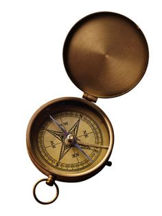 Old Copper Compass Navigation Reading Compass Army Cadet Hiking Gift Compas Item