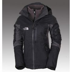 The North Face Women's Gore-Tex 3 in 1 Triclimate Jacket Black