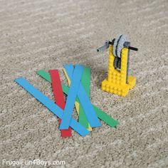 LEGO Challenge: Machines + Paper
