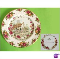 Royal Albert Old Country Roses Cottage Dinner Plate. Last one to clear at an amazing £7.99p