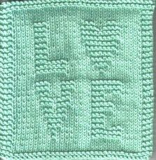 Love Heart Face Cloth — craftbits.com