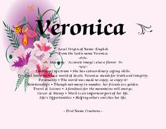 What is the name of Veronica