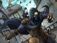 Garrett  Master Thief by Daniel-Jeffries.deviantart.com on @DeviantArt