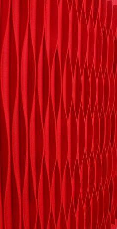 soundproofing LAINE Wool felt decorative acoustical panels by Anne Kyyrö Quinn design Anne Kyyrö Quinn Akustik by Acoustic Fabric, Acoustic Panels, Sound Proofing, Red Aesthetic, Felt Art, Material Design, Wool Felt, Design Art, Textiles