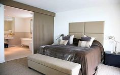 Kelly Hoppen: The master bedroom and en-suite