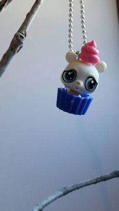 My Littlest Pet Shop necklace girls necklace by mydisheveledducks