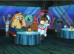 """That time Sandy could reach her mouth through her glass helmet. 