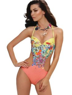 a201f10833066 La Madrague Underwire Swimsuit with Gel Cups Brand: JOLIDON. White  MonokiniMonokini ...