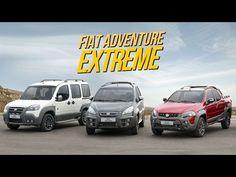 FIAT IDEA, DOBLO E WEEKEND ADVENTURE EXTREME - Carplace Fast News - YouTube