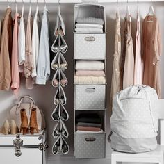 Easy To Hang And A Smart Solution For Stowing Clothes, Shoes And  Accessories, Our Hanging Closet Sweater Organizer Saves You Space And Keeps  Yu2026