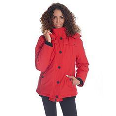8ac640d3ee97f Women s Down Coats Parkas - Alpinetek Women s Short Bomber Jacket (Medium