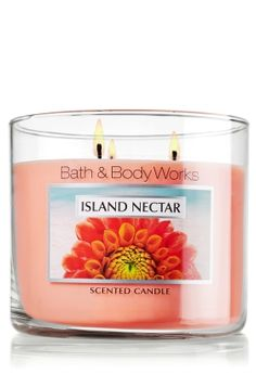 baths, scent candl, bath bodi, tropical fruits, island nectar, islands, scented candles, work candl, bodi work