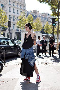 Marianne Theodorsen   #styledevil #tatttoo #streetstyle