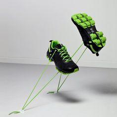 On Cloudsurfer running shoes in black @Amazon #shoes #fitness #sport #ONrunning #ON #Cloudsurfer #Amazon #black #green #running