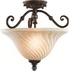 Kichler Lighting 42514LZ 2 Light Sarabella SemiFlush Semi Flush Ceili