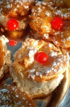 "St. Joseph's Day Zeppole ~ Adapted from Lidia Bastianich's ""Lidia's Italian-America Kitchen"""