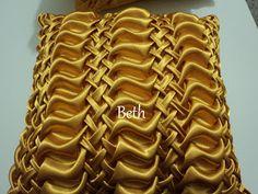 beth almofadas em capitonê: rosinhas almofada