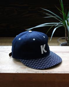 The Kiriko Sashiko Cap is back in stock! Our design is customized with our  own 1928c3d2ca2b