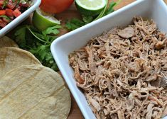 Make succulent Puerto Rican-style shredded pork in your slow cooker using orange juice, lime juice, garlic, cumin, and oregano. Puerto Rican Dishes, Puerto Rican Cuisine, Puerto Rican Recipes, Cuban Cuisine, Tortillas, Boneless Pork Sirloin Roast, Pork Loin, Shredded Pork Recipes, Sofrito Recipe