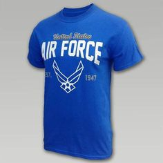 Air Force Retro Wings T- Shirt | ArmedForcesGear.com  #airforcegifts