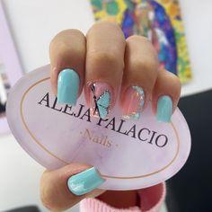 Cute Nail Colors, Cute Nails, Nails On Fleek, Manicure, Gemstones, Orange, Home Decor Ideas, Ideas, Stiletto Nails