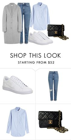 """hvhjbj"" by v-askerova on Polyvore featuring мода, NIKE, Topshop, Closed, Chanel и Acne Studios"