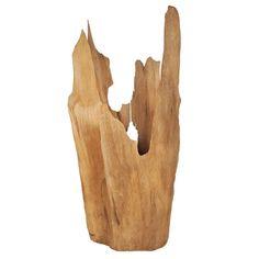 Large Natural Cypress Sculpture or Planter