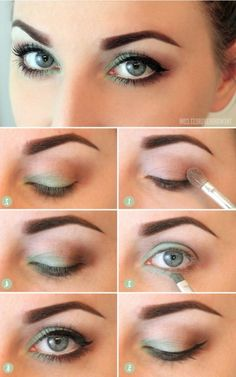 10 Step-By-Step Makeup Tutorials For Blue Eyes | Easy & Simple Eyeshadow Tutorial | For More Great Makeup Tips & Advice Visit MakeupTutorials.com.