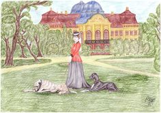 Vanda and the dogs by maya40.deviantart.com on @DeviantArt