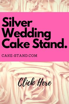 A silver wedding cake stand is the decoration piece that will bring elegance and style to any wedding cake and make you fill like a princes. Square Cake Stand, Square Cakes, Wedding Cake Stands, Wedding Cakes, Silver Cake Stand, Cake Platter, Pedestal Cake Stand, Small Cake, Wedding Planner