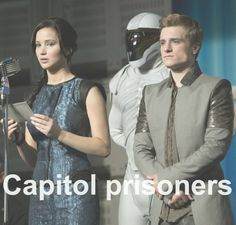 Capitol prisoners -- Victory Tour, featuring Katniss Everdeen & Peeta Mellark – Victors of the 74th Hunger Games! Catching Fire / Hunger Games