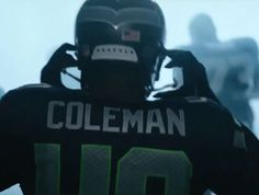 Derrick Coleman, the first deaf player in the NFL! Seahawks Fans, Seahawks Football, Best Football Team, Seattle Football, Seattle Seahawks, Derrick Coleman, 12th Man, Team Player, World Of Sports
