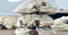 Flourless Chocolate Chip Cookies by My Whole Food Life | recipes | Pinterest | Flourless Chocolate, Chip Cookies and Chips