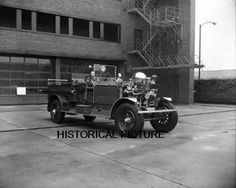 Ahrens Fox Apparatus by John Calderone Fire Apparatus Journal FDNY Chicago Fire Department, Fire Apparatus, Emergency Vehicles, Fire Engine, Fire Trucks, Antique Cars, Fox, Firefighters, Long Island