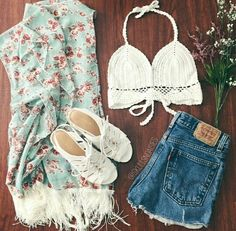 clothes, outfit, and summer Bild