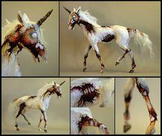 Zombie horse… zombie unicorn