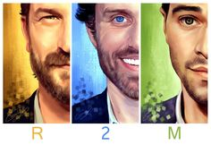 R2M by Brooke Milton << I have this print and it is AMAZING. #Supernatural