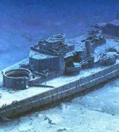 The Bismarck Wreck