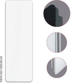 INDIVI NEW - szklana powierzchnia o zaokrąglonych rogach.
