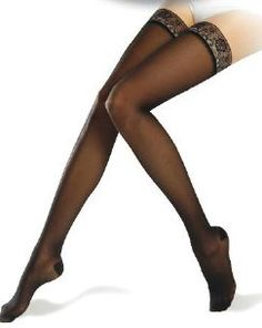 Compression stocking/hold ups are for women who want therapy in ...