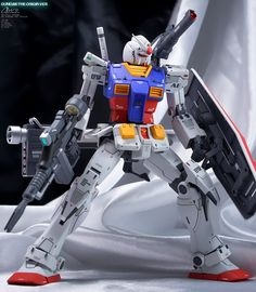 Identity Works's IMPROVED MG 1/100 RX-78-02 Gundam (Gundam The Origin Ver.) Full REVIEW Big Size Images | GUNJAP