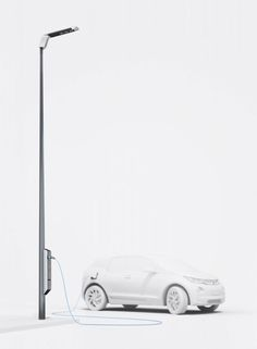 BMW testing streetlight charging for electric vehicles
