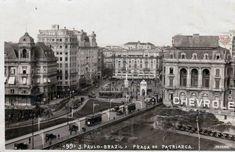 Viaduto do Chá e Praça do Patriarca Ano: 1928 Autor/Fonte: Prugner/Sampa Histórica